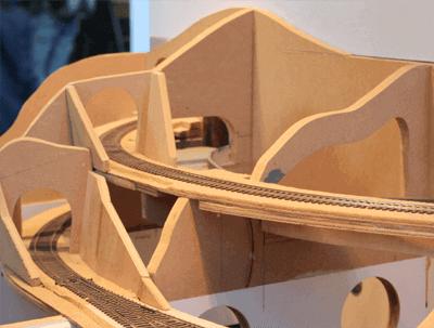 Modelspoorbaan ruwbouw