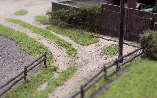 modelspoorbaan scenery detail 2