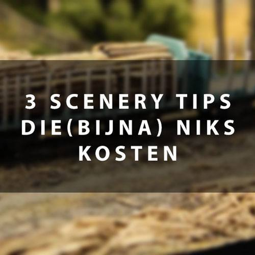 3 modelspoor scenery tips