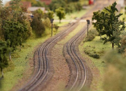 Rails voor modeltreinen
