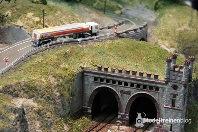 Tunnel op de lahntalbahn