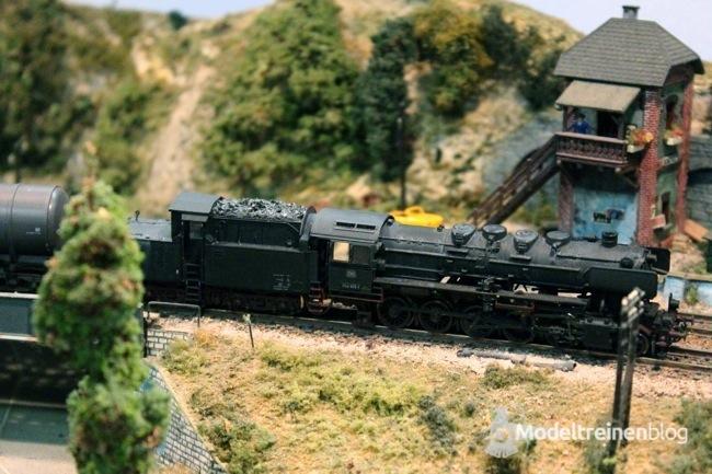 schaal n locomotief op de lahntalbahn