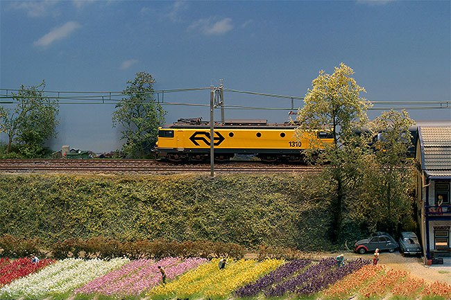 groeten uit holland modelspoorbaan