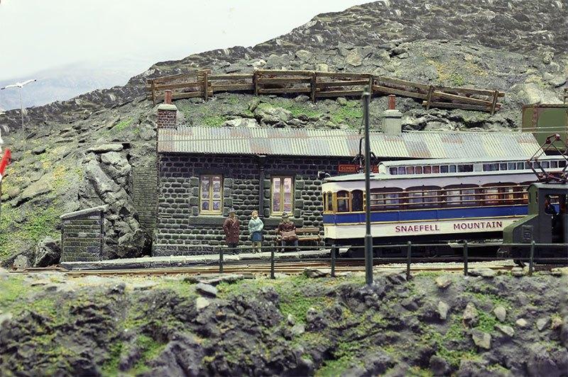 Modelspoor Diorama Creag Dhubh 3