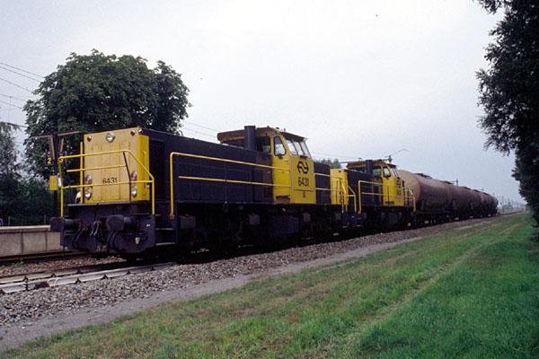 Serie 6400 in grootbedrijf: dit zijn de NS-dieselloks van de serie 6400/6500