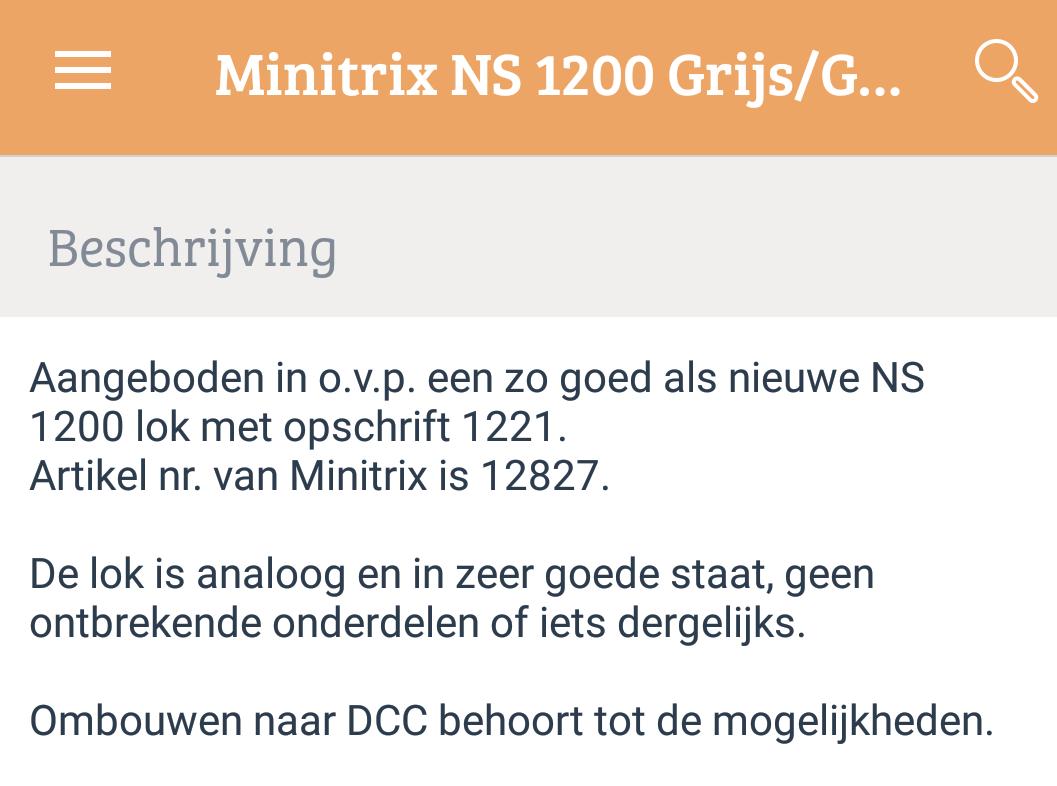 Minitrix loc is om te bouwen naar DCC?