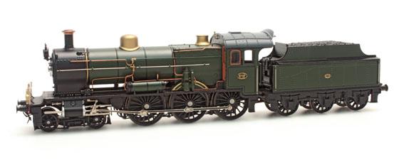 Foto 09: Artitec model 3737 Spoorwegmuseumlok