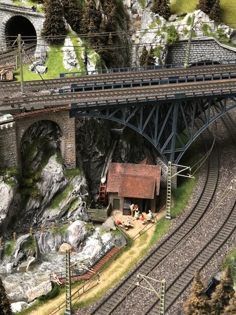 Viaducten rijen zich aaneen